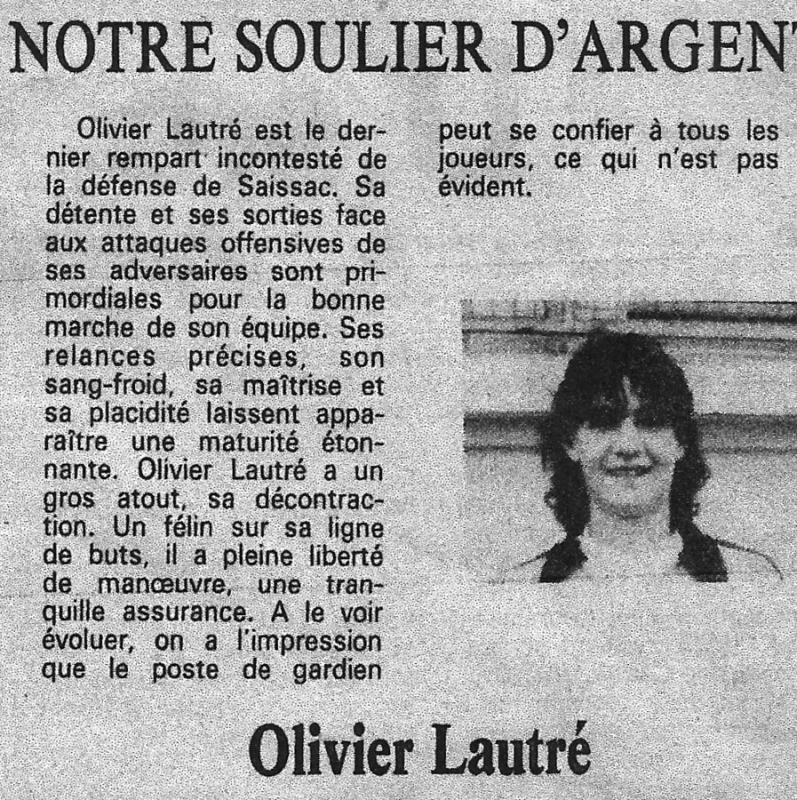 Soulier argent 85